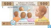 Centr.Afr.Stat. 500 Francs T