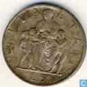 Italy 5 lire 1937