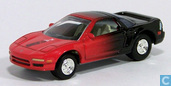 Voitures miniatures - Johnny Lightning - Acura NSX 'Coca-Cola'