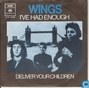 Disques vinyl et CD - Wings - I've Had Enough