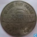 België 5 frank broodkaart 1921