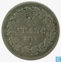 Belgium 1 / 4 Franc 1844