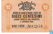 Venise 10 centimes