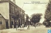 """'s-Gravenzande, Raadhuis en Hotel """"De Spaansche Vloot"""""""