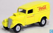 Model cars - Johnny Lightning - Jeep Willys Panel Van 'Coca-Cola'