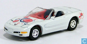 Voitures miniatures - Johnny Lightning - Chevrolet Corvette Convertible 'Coca Cola'