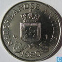Netherlands Antilles 25 cents 1980