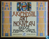 Jugendstil Art Nouveaux Bridge Playing Cards