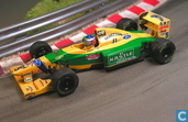 Voitures miniatures - Onyx - Benetton B193B - Ford 'Kastle'