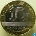 Frankreich 10 Franc 1994