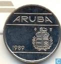 Aruba 10 cent 1989