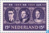 Postage Stamps - Netherlands [NLD] - 20 years Benelux