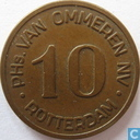 Boordgeld 10 cent 1964 van Ommeren