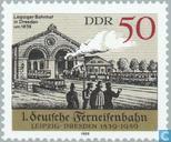 Fern-Eisenbahn Leipzig-Dresdner