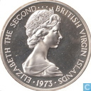 British Virgin Islands 1 dollar 1973 (cupronickel