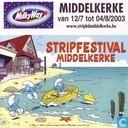 Stripfestival Middelkerke - Middelkerke van 12/7 tot 04/8/2003