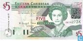 Oost. Caraïben 5 Dollars K