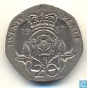 Verenigd Koninkrijk 20 pence 1987