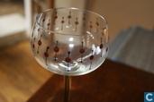 jugendstil wijnglas