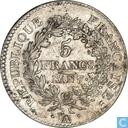 France 5 francs AN 7 (A)