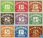 1924 Cijfer watermerk  GVR blokletters (GRB P2)