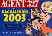 Comic Books - Agent 327 - Dagkalender 2003