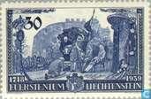 Vorst Franz Josef II- Huldiging