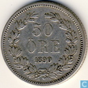 Sweden-Norway 50 öre 1899