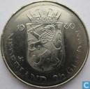 Netherlands 2½ gulden 1980 (double headed - weak stroke)