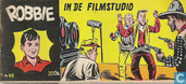 Strips - Robbie - In de filmstudio