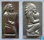 Mallen en matrijzen - Chocoladevormen - Indiaan