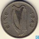 Ierland 6 pence 1942