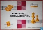 Damspel en Schaakspel