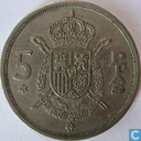 Spain 5 pesetas 1978