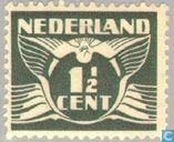 Timbres-poste - Pays-Bas [NLD] - Colombe volant