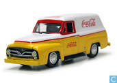 Voitures miniatures - Johnny Lightning - Ford Panel Van 'Coca Cola'