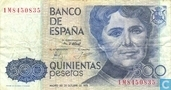 Espagne 500 pesetas