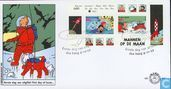 Postage Stamps - Netherlands [NLD] - Tintin comic-Stamps