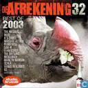 De afrekening 32 - Best of 2003