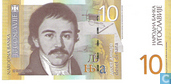 Yougoslavie 10 Dinara 2000