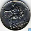 Italienische 1 Lira 1928