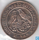 South Africa ¼ penny 1932