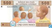 Centr.Afr.Stat. 500 Francs 2002 T=Congo