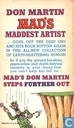 Bandes dessinées - Mad's Don Martin - Mad's Don Martin steps further out