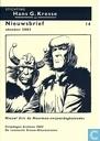Strips - Stichting Hans G. Kresse nieuwsbrief (tijdschrift) - Nieuwsbrief oktober 2003