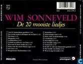 Disques vinyl et CD - Sonneveld, Wim - De 20 mooiste liedjes