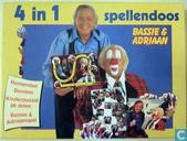 4 in 1 Spellendoos Bassie & Adriaan