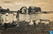 Het weitje aan de Rijn