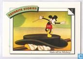 Hats off to Mickey! / What a card!