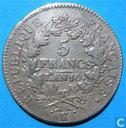 France 5 francs AN 10 (K)